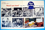 Click to view larger image of Vintage Ad: 1951 Pabst Blue Ribbon Beer w/Wood & More (Image1)