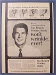 1981  Van Heusen Century Shirts w/ Ronald  Reagan