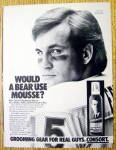 1985 Consort Hair Spray with Chicago Bears Gary Fencik