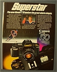 1984 Canon T 70 Camera with Wayne Gretzky