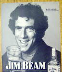 Click to view larger image of 1974 Jim Beam Whiskey with Actor Elliot Gould (Image2)