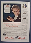 Vintage Ad: 1942 Columbia Records with Artur Rodzinski