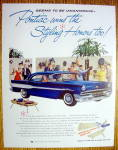 Click to view larger image of 1957 Pontiac with a Great Blue Pontiac (Image1)