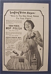 1923  Liquid  Veneer  Mop  Polish