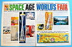 Click here to enlarge image and see more about item 8328: Vintage Ad: 1962 Seattle's Space Age World's Fair
