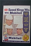 Click here to enlarge image and see more about item 840: 1953  Mobiloil with 3  AAA Speed Kings of Auto Racing