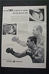 Click here to enlarge image and see more about item 842: Vintage Ad:1953 G-E Aluminized Tube with Rocky Marciano