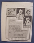 1924  Molle  Shaving  Lotion