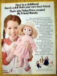 1978 Fisher Price Mandy with Little Girl & Doll