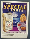 1993 Camel Cigarettes with Joe The Camel By Moonlight