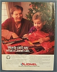 Vintage Ad: 1990 Lionel Trains