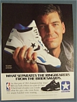 Vintage Ad: 1990 Converse Shoes with Bill Laimbeer