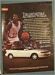 1991  Toyota  Celica  Convertible  with  Isiah  Thomas