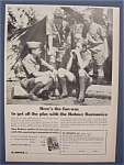 1965 Hohner Harmonica Ad with Boy Scouts