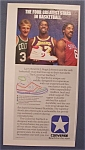 Vintage Ad: 1985 Converse w Larry Bird & More