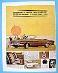 Click to view larger image of Vintage Ad: 1962 Plymouth Sport Fury (Image1)
