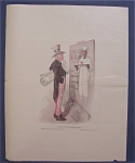 Click here to enlarge image and see more about item 8595: 1921 Cream Of Wheat Cereal Ad with Uncle Sam