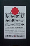 1935 Ball Band Footwear with 12 Different Styles