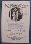 Vintage Ad: 1926 Golden State Limited To California