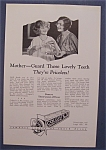 1926 Colgate Ribbon Dental Cream w/2 Women Talking