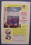Vintage Ad: 1955  Grand  Canyon