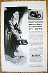 1926 Williams Oil O Matic Heating with Man Shoveling