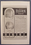 1926  Russwin  Distinctive  Hardware