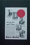 1936 Ball-Band Footwear with 5 Different Style of Shoes