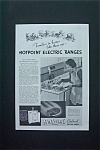1937 Hotpoint Calrod Electric Ranges with Woman Cooking