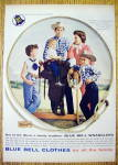 Click to view larger image of 1959 Blue Bell Clothes with Jim Shoulders & Family (Image1)