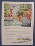 Vintage Ad: 1958  Aluminum  From  Canada