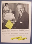 Vintage Ad: 1958 Western Union Telegram w/Edward Breck