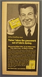 Vintage Ad: 1965 Tintex Fabric Dye with Arthur Godfrey