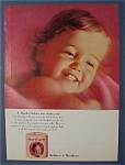 1964 Northern Tissue with a Lovely & Adorable Baby