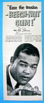 Click here to enlarge image and see more about item 8819: 1953 Beech Nut Gum Ad with Boxer Joe Louis