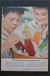 1957 Glass Container Manufacturers w/Boys Pick Bottles