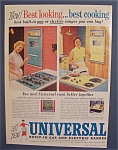 1959  Universal  Built - In  Gas  &  Electric  Ranges
