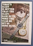 1970  Elgin  Watches  With  Babe  Ruth