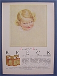 1956 Breck Shampoo w/Little Girl with Blue Eyes