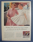 Vintage Ad: 1956 Cheer Laundry Detergent