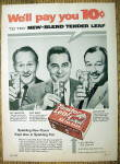 Click to view larger image of 1958 Tender Leaf Tea Bags w/Linkletter, Barry & Bailey (Image1)