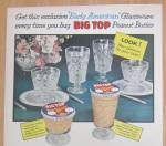 Click to view larger image of 1957 Big Top Peanut Butter w/ Early American Glassware (Image3)