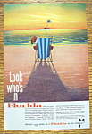 Vintage Ad: 1963 Florida With Santa Claus