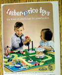 Click to view larger image of 1963 Fisher-Price Toys with Children Playing with Toys (Image2)