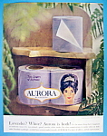 1964 Aurora Toilet Tissue with Woman's Face