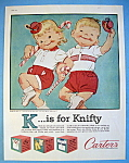 Vintage Ad: 1960 Carter Polo Shirts & Matching Shorts