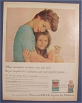1960  Bayer  Aspirin  For  Children