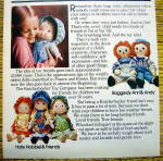 Click to view larger image of 1978 Knickerbocker with Mickey, Raggedy Ann & More (Image3)