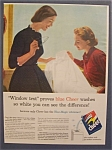 1955  Cheer  Blue - Magic  Whitener  Detergent