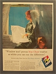 1955  Cheer  Blue  Magic  Whitener  Detergent